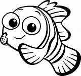 Nemo Coloring Disney Finding Pages Printable Getcolorings sketch template
