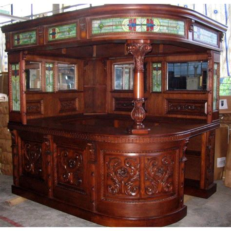 Corner Bar Furniture For The Home by Antique Covered Style Corner L Home Bar Furniture