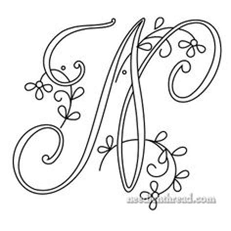 1000+ Ideas About Hand Embroidery Letters On Pinterest