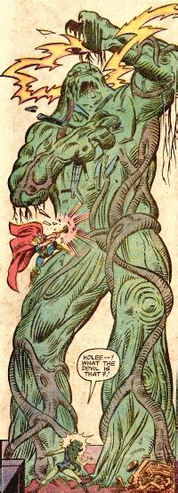 tree creature plantman servant avengers foe