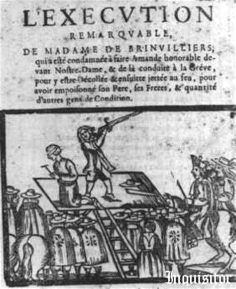 la marquise de brinvilliers gruesome of serial murderer marquise de brinvilliers of an admirer