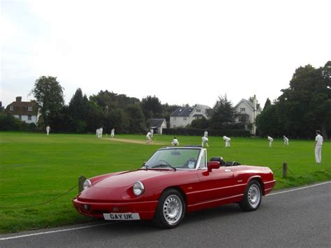 Alfa Romeo Spider Review by Classic Car Review 1992 Alfa Romeo Spider