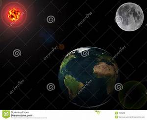 Planets - Earth, Moon And Sun Royalty Free Stock Photos ...