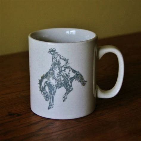 Choose from thousands of cowboy coffee cups designed by our community of. Vintage Cowboy Coffee Mug   Mugs, Coffee mugs, Coffee