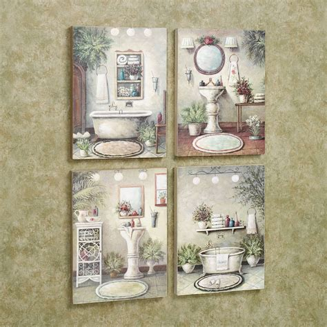 bathroom wall decor ideas bathroom bliss wooden wall plaque set