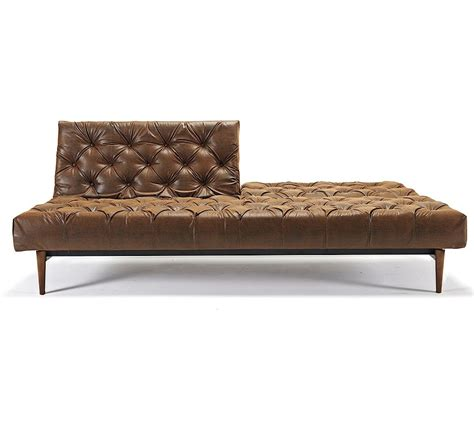 Leather Chesterfield Sleeper Sofa by Oldschool Vintage Leather Chesterfield Sofa Bed Zin Home