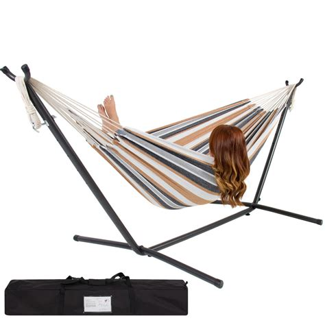 Hammock Metal Stand by Hammock With Space Saving Steel Stand Includes