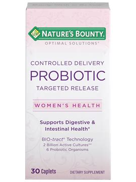 Controlled Delivery Probiotic (30 Caplets) | Nature's