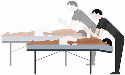 Massage Clipart Massages Relaxing Transparent Techniques Zeel