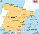 Spain Airports Map | Maps | Pinterest | Spain., Europe and ...