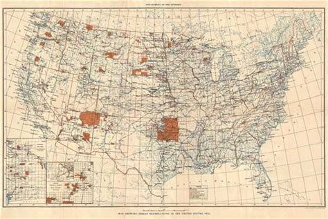 united states department of interior bureau of indian affairs acquisitions geographicus antique maps