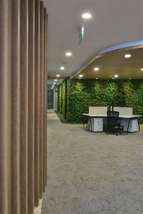 Artificial Vertical  Ee  Garden Ee   Feature Wall In Office