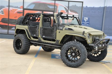 jeep wrangler military green 2017 jeep wrangler unlimited sport 102 miles kevlar flat
