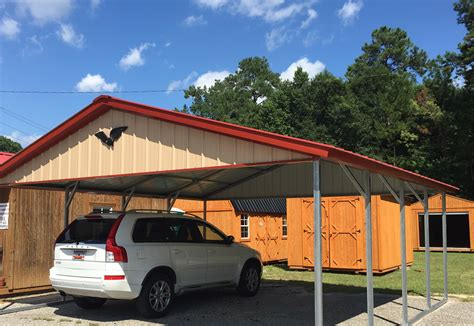 Eagle Car Ports by 1 Sheds Charleston Sc Metal Buildings Metal Carports