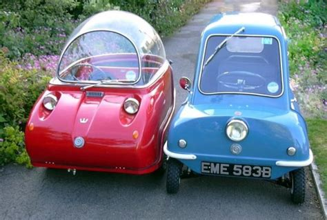 The Smallest Car In The World - The Peel P50 Micro Car