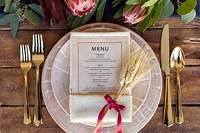 place setting ideas 3 Simple Thanksgiving Place Setting Ideas | The Everygirl
