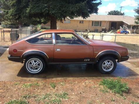 Drop an SBC in it... 1982 AMC Eagle SX/4