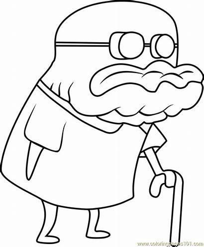 Coloring Jenkins Pages Spongebob Squarepants Cartoon Printable