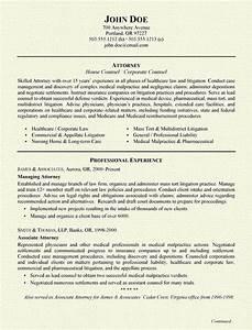insurance defense attorney resume samplebusinessresume With attorney resume samples