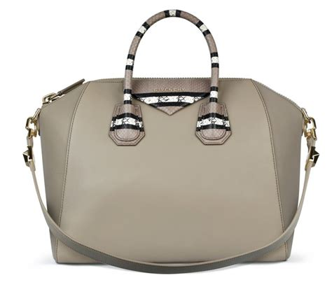 givenchy springsummer  bag pre collection spotted fashion