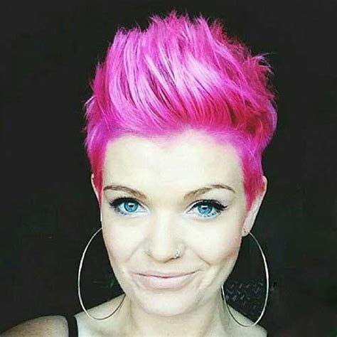 good pink pixie cuts short hairstyles haircuts