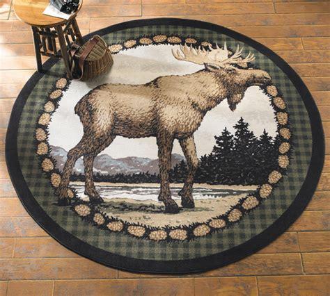 majestic moose  rug