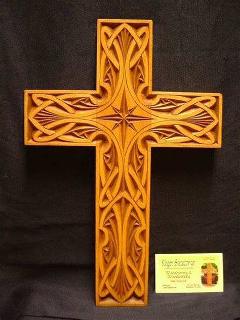 chip carved cross  roger strautman  lumberjockscom