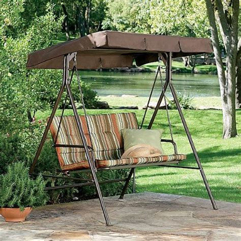 canapé swing jcp 2 person swing replacement canopy gazebos patio