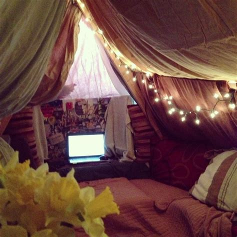 Blanket Forts Tumblr Bedroom  Google Search  A) Vision