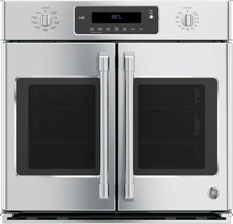 door wall oven ge ct9070shss 30 inch single door electric wall