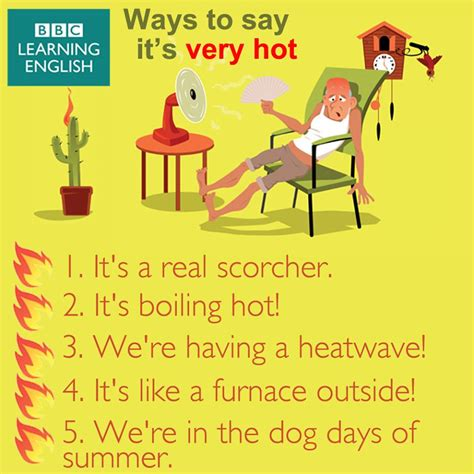 Other Ways To Say It's Hot Outside  Myenglishteachereu Blog