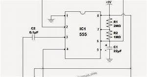 Electrical Engineering World  60 Second Timer Circuit Diagram