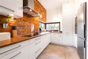 Alternative Zu Fliesen In Der Küche : steinwand in der k che so schaffen sie eine tolle steinoptik ~ Michelbontemps.com Haus und Dekorationen