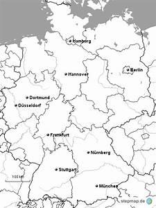 Schönsten Städte Deutschland : deutschland berblick nur st dte von timerburner landkarte f r deutschland ~ Frokenaadalensverden.com Haus und Dekorationen
