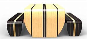 Surfing Decorating Theme Surfboard Table And Benches By