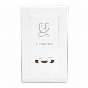 Retrotouch Simplicity White 20w Shaver Socket At Uk Electrical Supplies