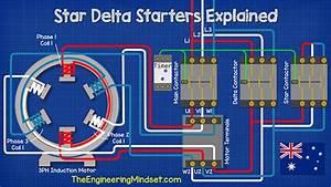 Wye Start Delta Run Wiring Diagram
