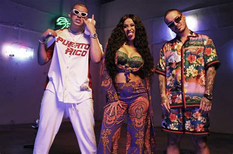 Cardi B, J Balvin, Bad Bunny & More