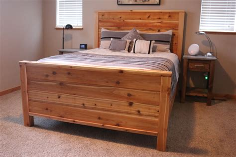 Diy Wooden Bed by Diy Bed Frame Plans How To Make A Bed Frame With Diy Pete
