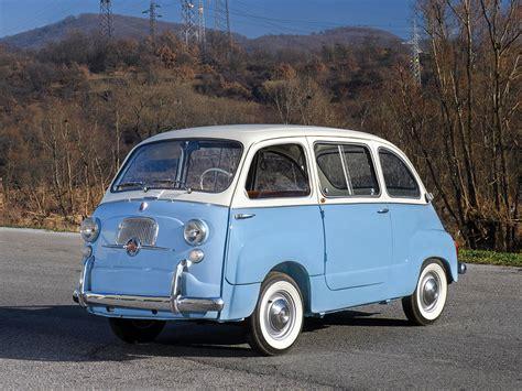 Fiat Multipla 600 by Fiat 600 Multipla 1963