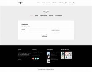 dekor responsive interior html template by plazart With themeforest login template