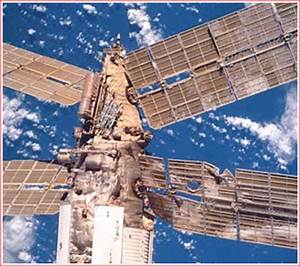 Mir Space Station Crash - Pics about space