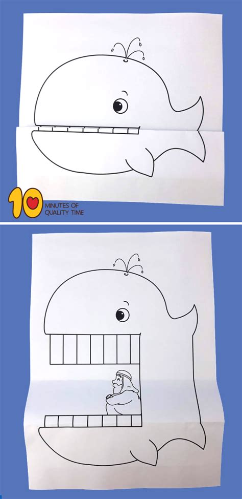 jonah   whale craft  minutes  quality time