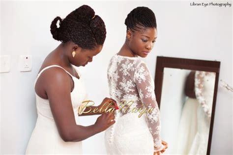 Natural Hair Nigerian Brides