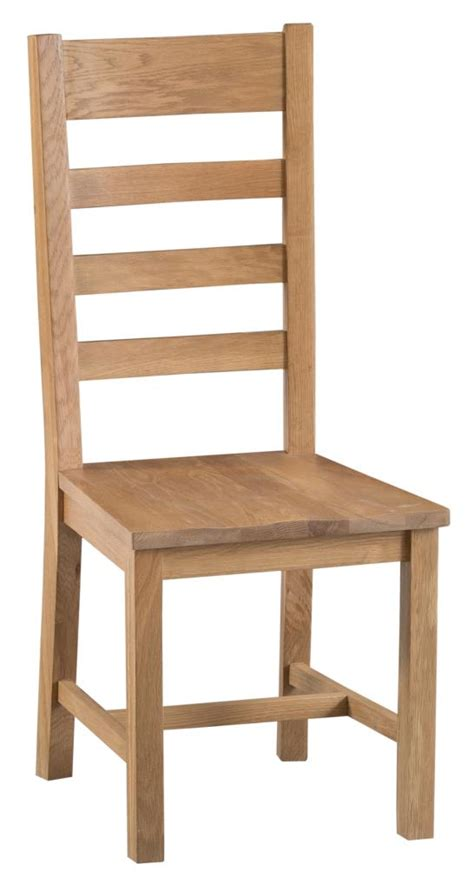 wooden ladder back chairs ki chester ladder back wooden seat chair country 7165