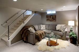 24, Stunning, Ideas, For, Designing, A, Contemporary, Basement