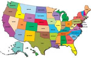 Current Weather Map USA States
