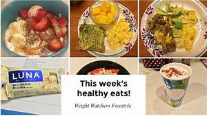 Weight Watchers Food Vlog | Weekly Healthy eats - YouTube