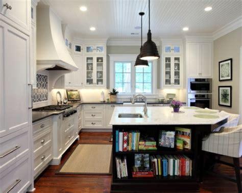 Küchenideen Für Lesefreudige  Hat Das Bücherregal Platz