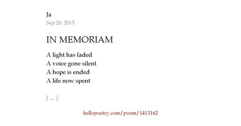 Closed Curtain by In Memoriam By Ja Hello Poetry
